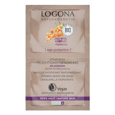 Logona Age Protection Sıkılaştırıcı Nemlendirici Maske