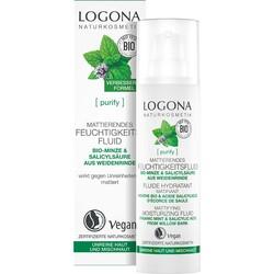 Logona - Logona Akneli Ciltler Matlaştırıcı Etkili Nemlendirici Fluid 30 ml