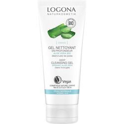 Logona - Logona Aloe Vera Özlü Derinlemesine Temizleme Jeli 100ml