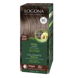 Logona - Logona Bitkisel Toz Saç Boyası Doğal Kahve No: 080