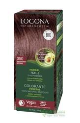 Logona - Logona Bitkisel Toz Saç Boyası Maun Kahve No: 050