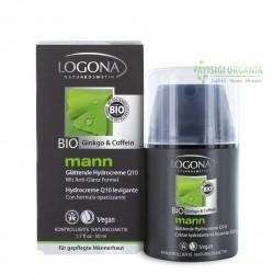 Logona - LOGONA Erkek Yüz Bakım Kremi Q10 50mL
