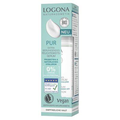 Logona Hassas Ve Alerjik Ciltler İçin Parfümsüz Ekstra Nemlendirici Serum 30ML