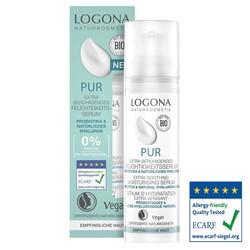 Logona - Logona Hassas Ve Alerjik Ciltler İçin Parfümsüz Rahatlatıcı Ekstra Nemlendirici Serum 30ML