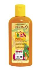 Logona - Logona Organik Çocuk Bakım Şampuanı ve Duş Jeli 200ml