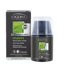 Logona - Logona Organik Erkek Traş Sonrası Balsam (Ginkgo ve Kafein) 50ml