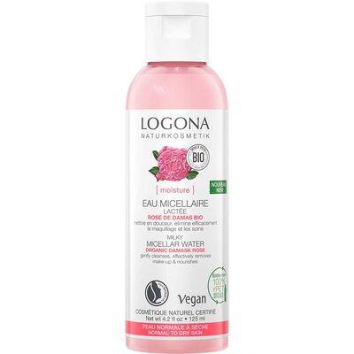Logona Organik Gül Özlü Süt Kıvamında Misel Suyu 125ml