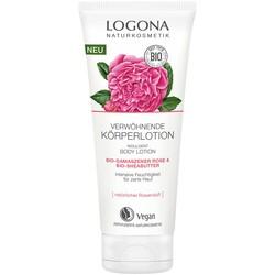 Logona - Logona Organik Gül ve Sheabutter Özlü Yoğun Nemlendirici Vücut Losyonu 200ML
