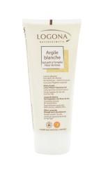 Logona - Logona Organik Nilüfer Çiçekli Beyaz Killi Yıkama Kremi 200ml