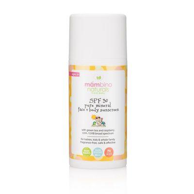 Mambino Organics Mineral Bazlı Bebek ve Çocuk Güneş Kremi SPF30_
