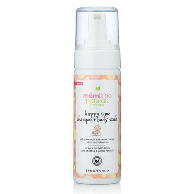 Mambino Organics Parfümsüz Bebek Çocuk Şampuanı Happy Time