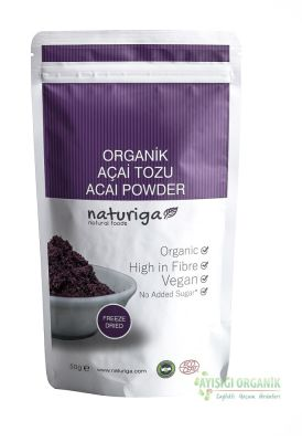 Naturiga Açai Tozu (Freeze Dried) 50gr