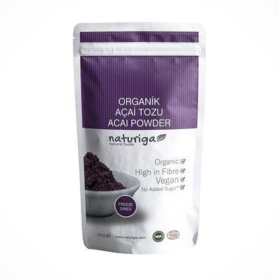 Naturiga Açai Tozu (Freeze Dried) 50gr