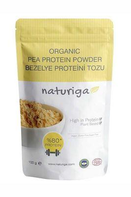 Naturiga Organik Bezelye Proteini Tozu 100 Gr