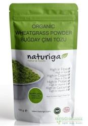 Naturiga Organik Buğday Çimi Tozu 100gr - Thumbnail