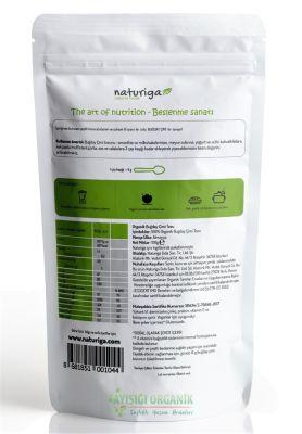 Naturiga Organik Buğday Çimi Tozu