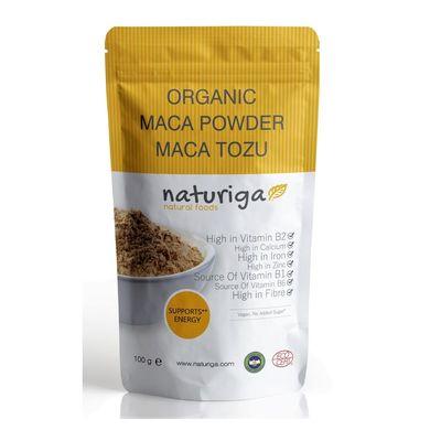 Naturiga Organik Maca Tozu 100gr