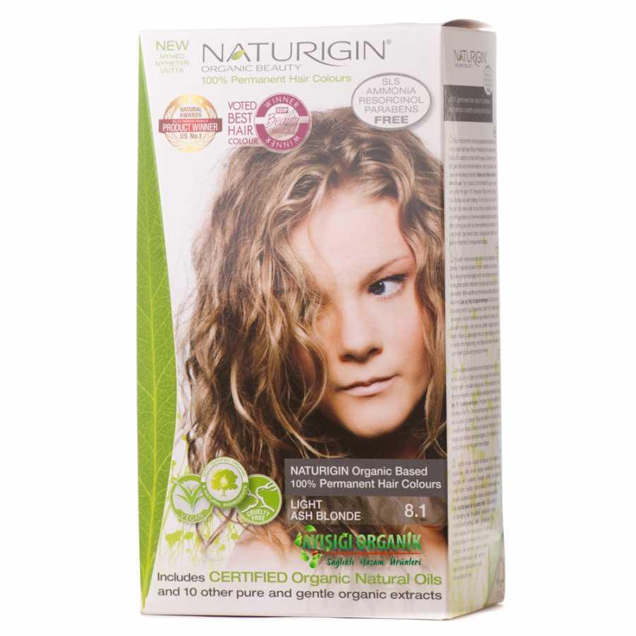 Naturigin Organik Saç Boyası Açık Kül Sarısı 81 Amonyak