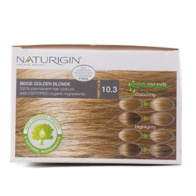 Naturigin Saç Boyası 10.3 Altın Sarısı