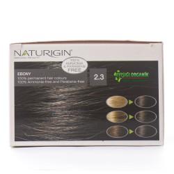 Naturigin Organik Saç Boyası Ebony Siyah 2.3 - Thumbnail