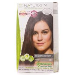 Naturigin - Naturigin Organik Saç Boyası Kahverengi 4.0
