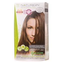 Naturigin - Naturigin Organik Saç Boyası Kahverengi 5.0