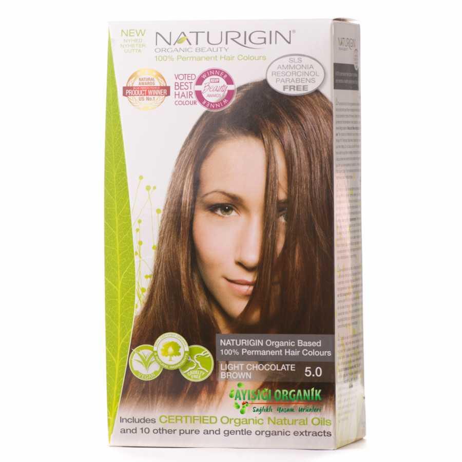 Naturigin Organik Saç Boyası çikolata Kahverengi 50amonyak