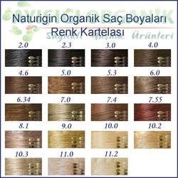 Naturigin Organik Saç Boyası Kahverengi 5.0 - Thumbnail