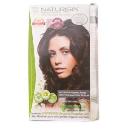 Naturigin - Naturigin Organik Saç Boyası Koyu Kahve 3.0
