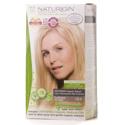 Naturigin Organik Saç Boyası Platin Sarı 10.0 - Thumbnail
