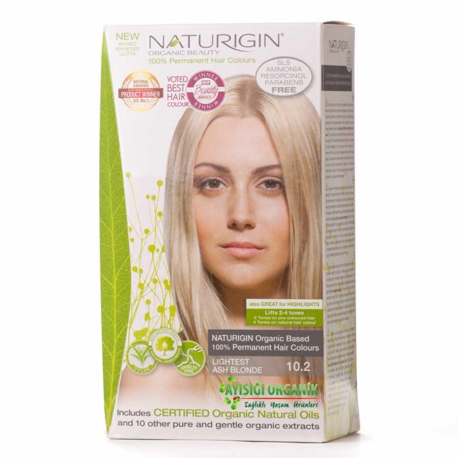 Naturigin Organik Saç Boyası Kül Sarısı 102 Amonyak Içermez