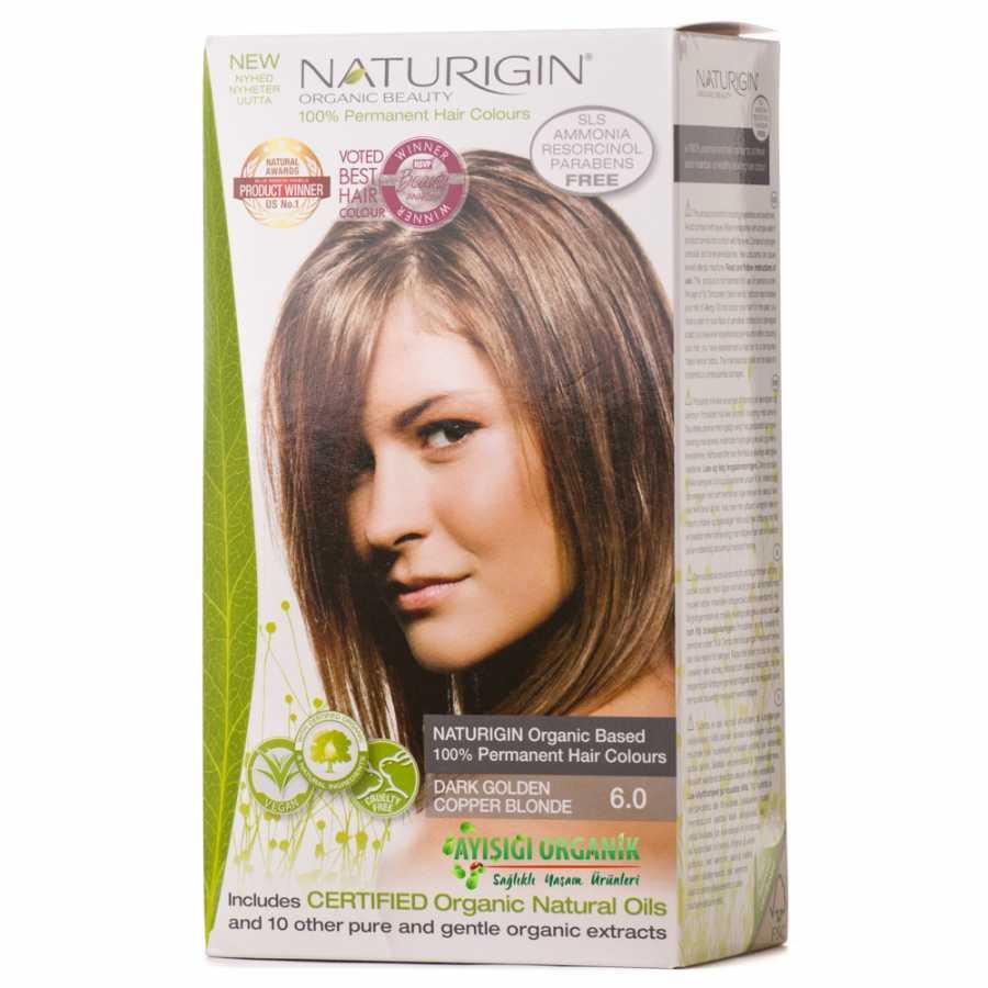 Naturigin Organik Saç Boyası Altın Sarısı 60amonyak Içermez