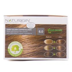 Naturigin Organik Saç Boyası Altın Sarısı 6.0 - Thumbnail