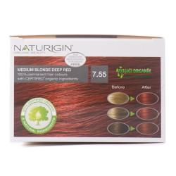 Naturigin Saç Boyası Alev Kızılı 7.55 - Thumbnail