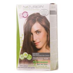 Naturigin - Naturigin Organik Saç Boyası Orta Bakır 6.34