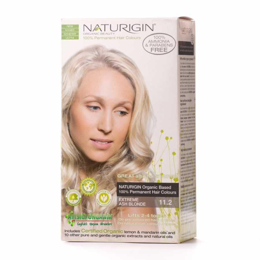 Naturigin Organik Doğal Saç Boyası Küllü Sarı 112 Amonyak