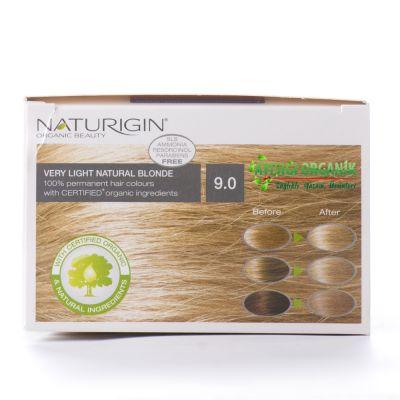 Naturigin Organik Saç Boyası Yumuşak Sarı 9.0