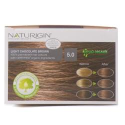 Naturigin Saç Boyası Çikolata Kah. 5.0. - Thumbnail