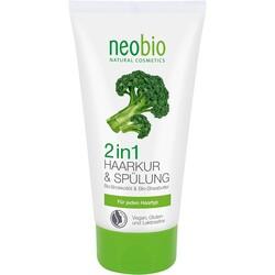 Neobio - Neobio Organik Brokoli ve Shea Yağı 2'si 1 Arada Saç Bakım Kremi 150ml