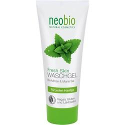 Neobio - Neobio Organik Nane ve Deniz Tuzu Canlandırıcı Yüz Temizleme Jeli 100ml