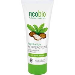 Neobio - Neobio Organik Sheayağı ve Hindistan Cevizi Yağı Yoğun Vücut Kremi 200ml