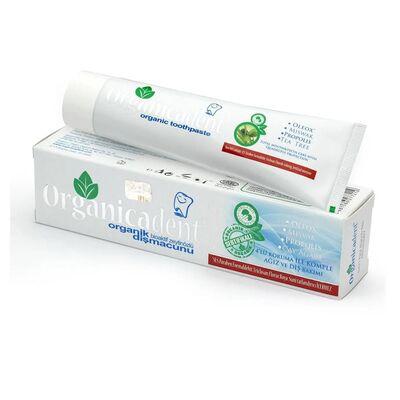 Organicadent Florürsüz Organik Diş Macunu 75ML