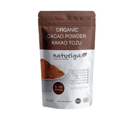 Naturiga Organik Kakao Tozu 100gr