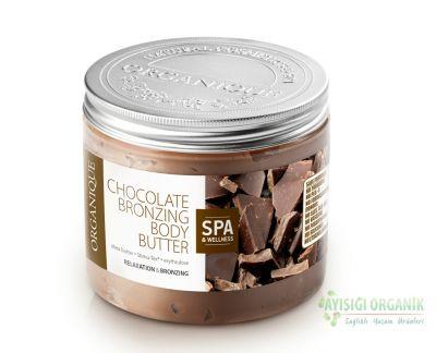 Organique Çikolatalı Bronzlaştırıcı Vücut Yağı 200ml