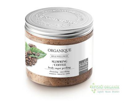 Organique Kahve Özlü İnceltici Şekerli Peeling 200ml