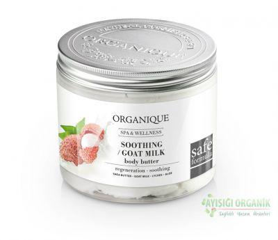 Organique Keçi Sütlü & Liçi Nemlendirici Vücut Yağı