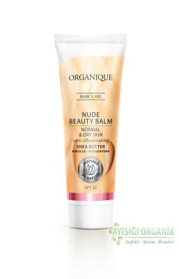 Organique NUDE BEAUTY BALM - NORMAL VE KURU CİLTLER İÇİN - 30 ml