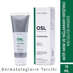 OSL Omega Skin Lab - OSL Omega Skin Lab Akneli ve Yağlı Cilt Sülfür Maskesi 75ml