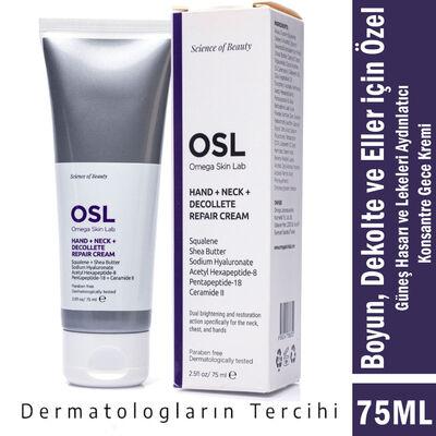 Osl Omega Skin Lab HND Boyun, Dekolte, Eller için Krem 75ML