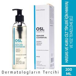 OSL Omega Skin Lab - OSL Omega Skin Lab Squalene Hassas Kuru Cilt Makyaj ve Yüz Temizleme Jeli 200ML